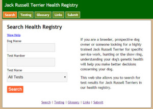 JRT Health Registry